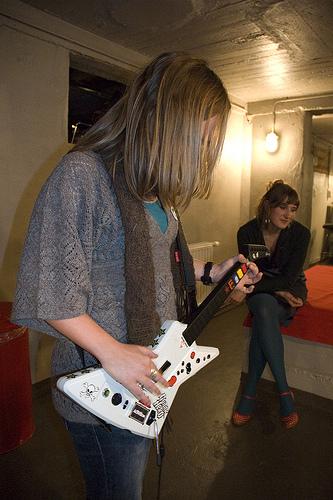 Duidelijk een rocktalent!