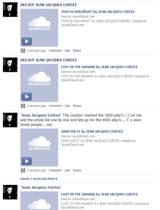 Push on Facebook