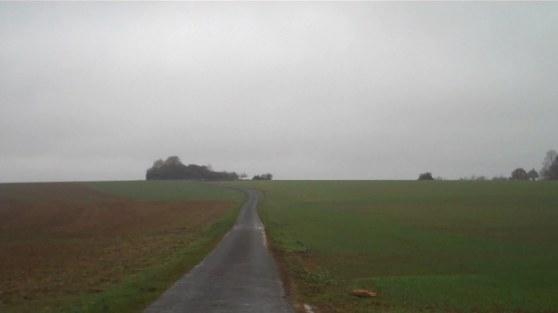 Een eenzame weg. Zo waren er veel.