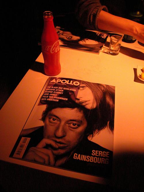 De cover van de eerste editie van Apollo.