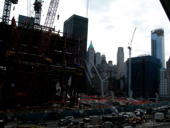 Ground Zero, meer dan 8 jaar later.