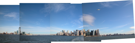 Panorama New Jersey en Manhattan