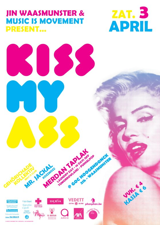 Kiss My Ass affiche