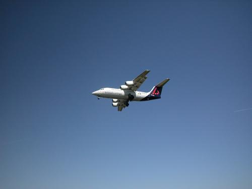 Brussels Airlines, Landing op 25L, Steenokkerzeel