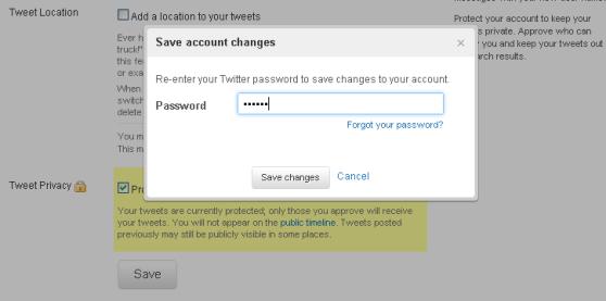 Bevestig door je paswoord nogmaals in te geven.