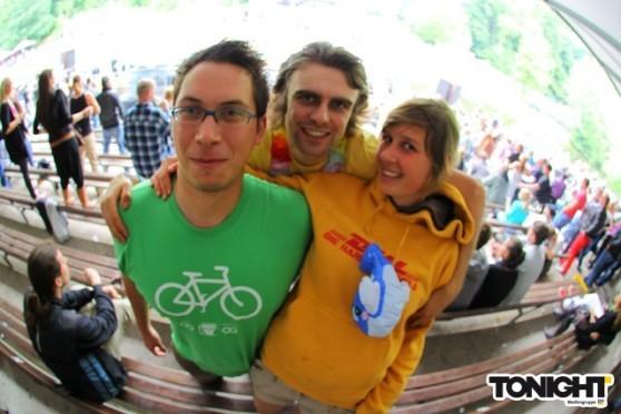 De Blauer See party crew.