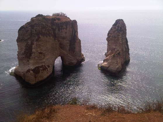 Beirut's Pigeons' Rock