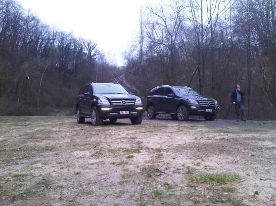 Mercedes GL en MK