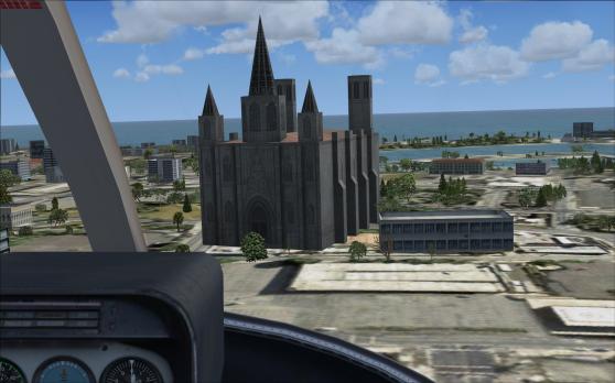 Een of andere kerk.