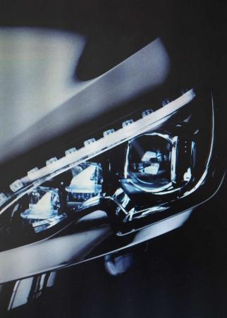 New Peugeot 308 headlight
